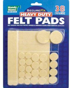 Floor Protector Pads (Felt) - 38 Pack