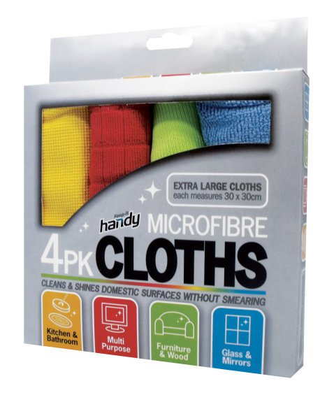 Microfiber Cloth - 4 Pack