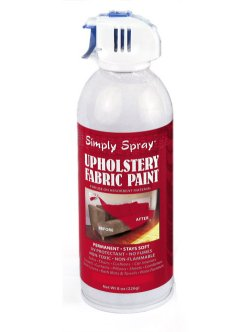 Burgundy fabric dye spray paint quick easy effective Fabric spray paint for car interior