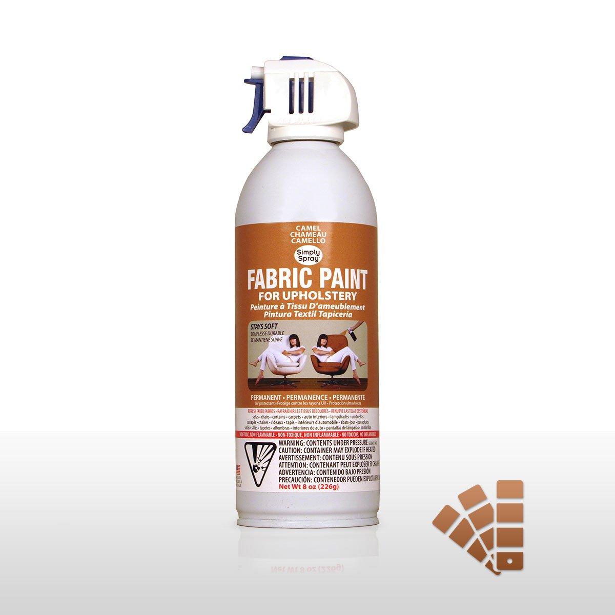 Spray Paint: Camel Beige Fabric Dye Spray Paint