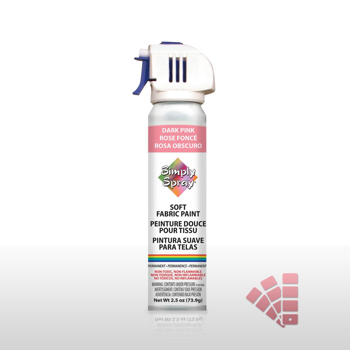 b360f4900ede22 Dark Pink Fabric Paint Spray / Dye - Vibrant, Easy & Soft