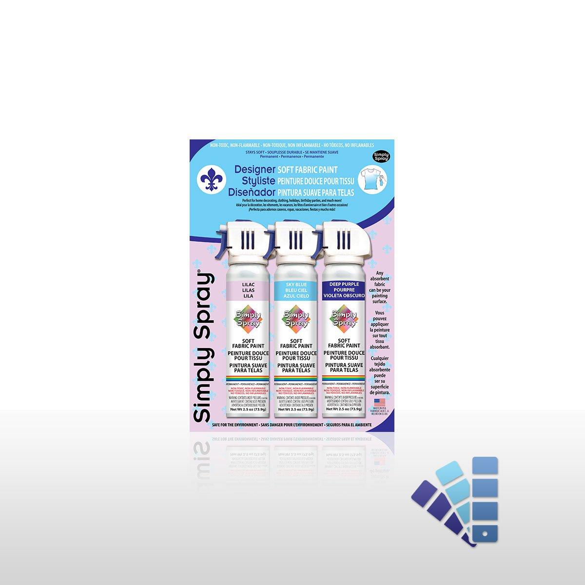 Designer Fabric Spray Paint Multipack