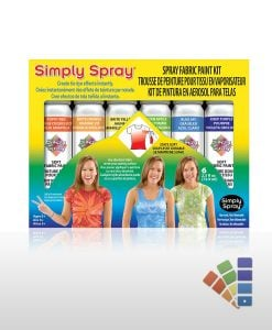 Party Fabric Spray Paint Multipack