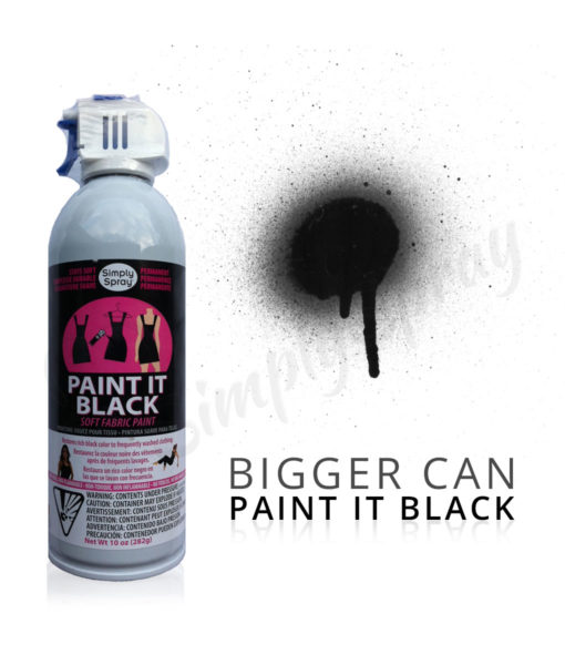 large black fabric dye spray paint quick easy effective. Black Bedroom Furniture Sets. Home Design Ideas