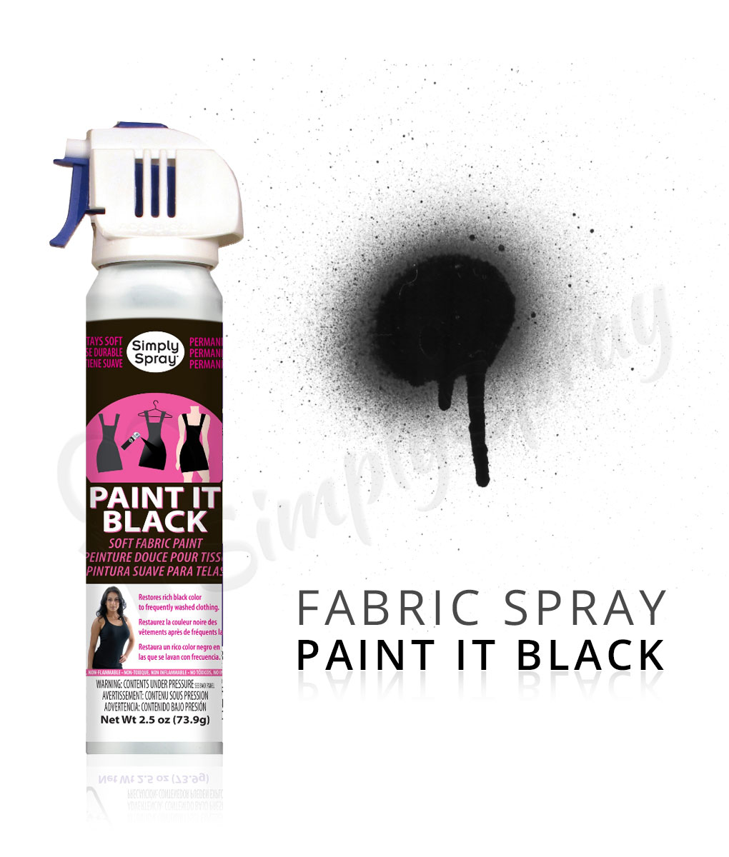 black fabric dye spray paint quick easy effective. Black Bedroom Furniture Sets. Home Design Ideas