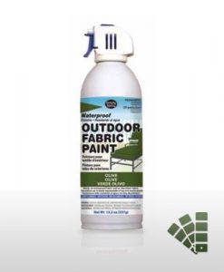 Olive Green Waterproofing Fabric Spray Paint