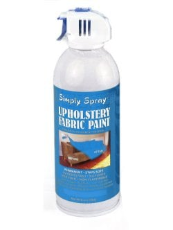 Periwinkle Fabric Dye Spray Paint Quick Easy Effective