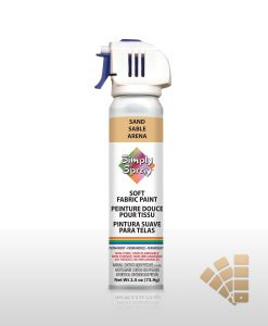 Sandy Brown Fabric Paint Spray
