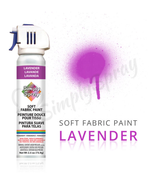 lavender fabric paint spray dye vibrant easy soft. Black Bedroom Furniture Sets. Home Design Ideas