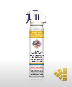 Sunset Gold Fabric Paint Spray