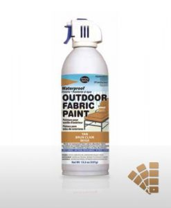 Tan Waterproofing Fabric Spray Paint