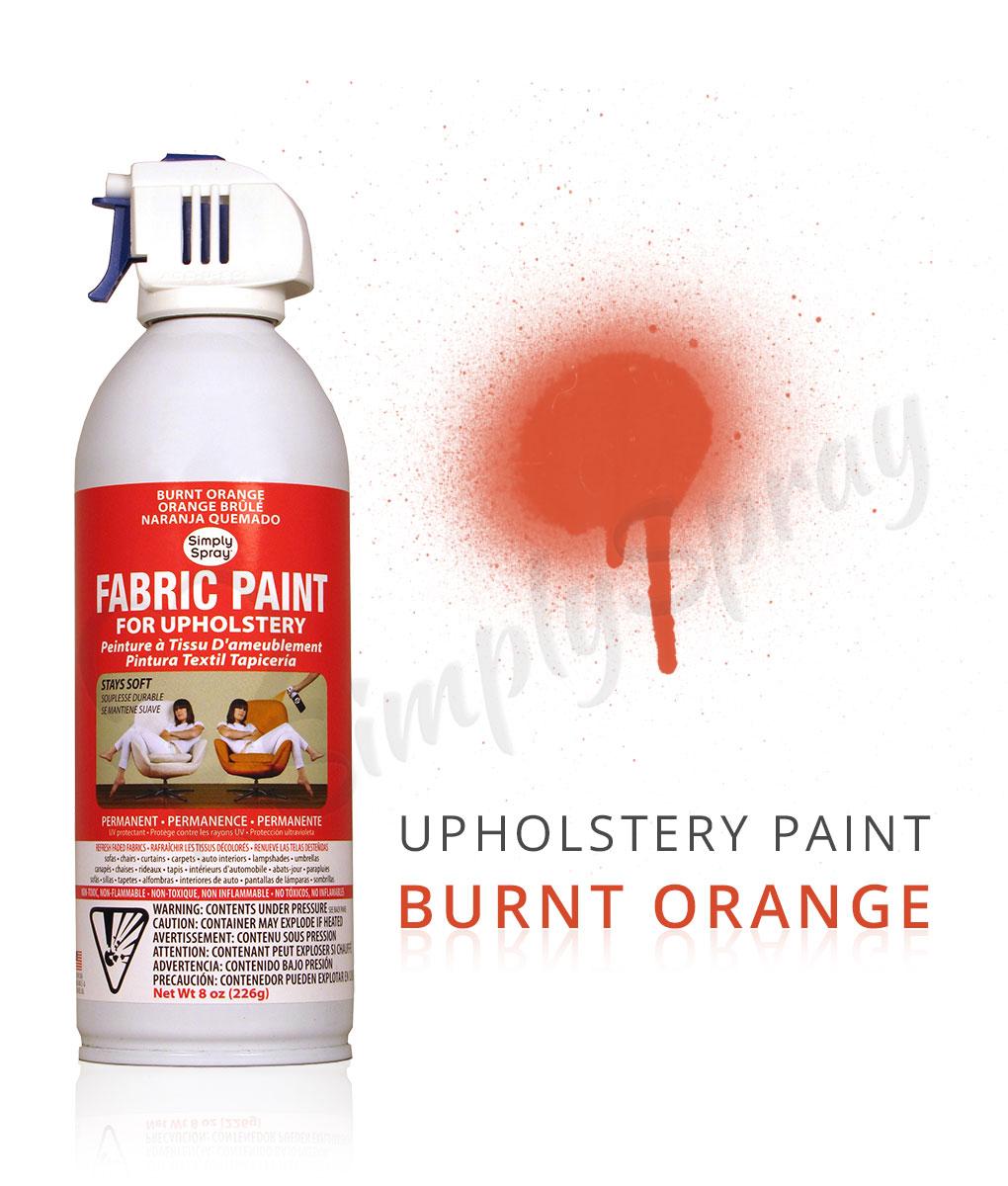 Burnt Orange Fabric Paint Spray Dye Large